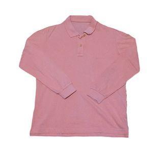Longsleeve Pink Salmon Polo
