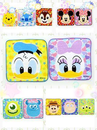 Disney 卡通小方巾