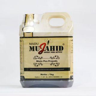 Madu Mujahid Hutan Plus Propolis 1kg