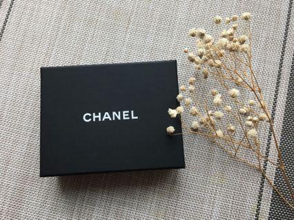 Chanel 耳環盒 包裝盒
