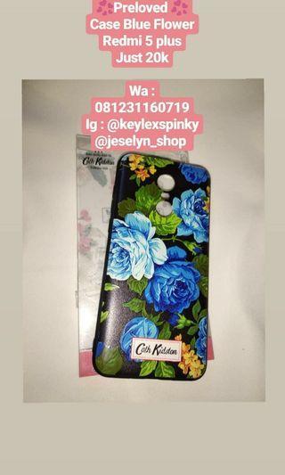 Case flower redmi 5 plus