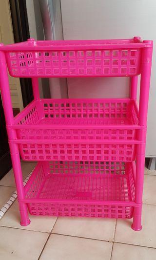 Mutipurpose Plastic Rack in good condition