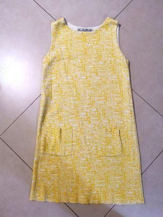 Zara A-line dress with 2 pockets size M