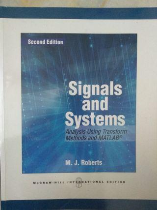 Signal & Systems by M.J. Roberts #OYOHOTEL