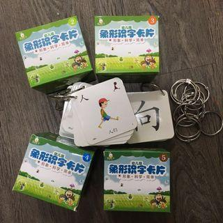 500 Chinese Educational Pictogram Cards