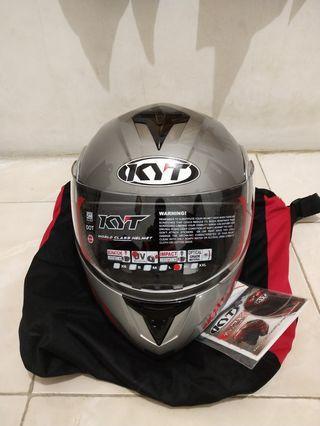 Helm Honda Full Face RRX KYT Ukuran XL -SH637 Hitam