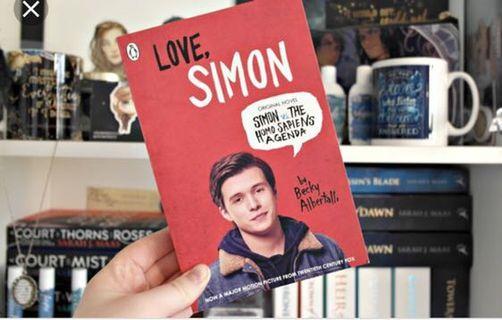 🚚 Love Simon book