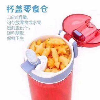 新款康迪克,好有愛🇺🇸Contigo康迪克新款兒童吸管水杯 384mlx2安全塑料製品