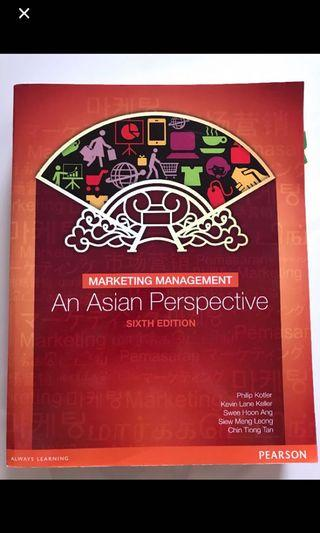 Marketing Management - An Asian Perspective - 6th Edition