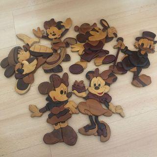 🚚 Mickey & Minnie wall decoration