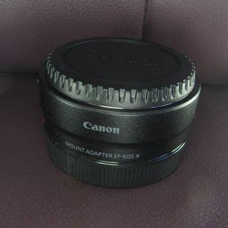 Canon EF-EOS R Mount Adapter鏡頭轉接器 只用了一次