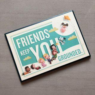 🚚 Hallmark聯名Snoopy 電影木質擺飾 友情的溫度 史努比