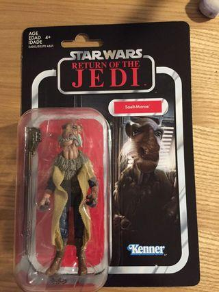 Star wars vintage collection saelt-marae (yak face) 3.75""