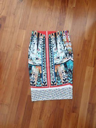 (BN) MDS Bandage Skirt (Mid Length)