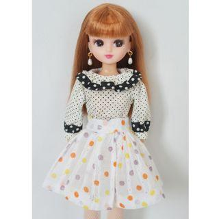 Licca Doll Polka Dot Cutie