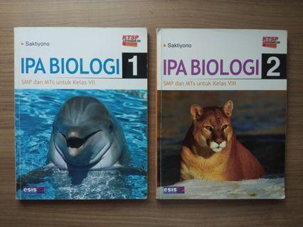 Textbook IPA Biologi SMP Esis
