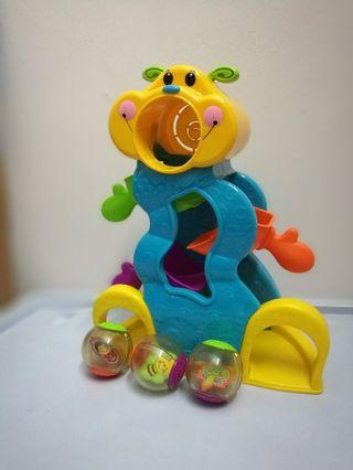 Fisher Price Roll A Rounds Tumble Bug Ball Drop