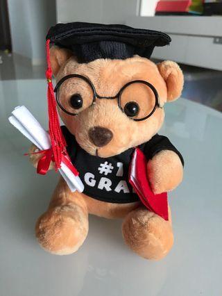 🚚 Cute Graduation Bear