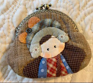 Handmade large coin purse
