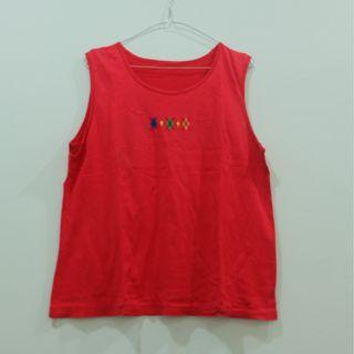 PRELOVED Tanktop Merah