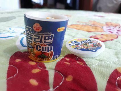 Maggi Mee Ramen Noodles Eraser in cup