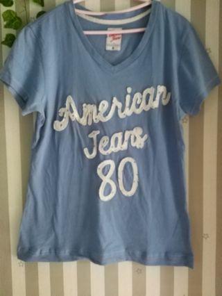 Kaos matahari american jeans uk xl