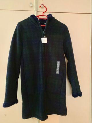BNWT Uniqlo Winter Coat with Hood