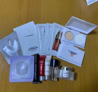 化妝護膚sample試用裝 $5/個