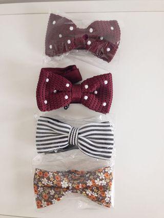 🚚 New bow ties