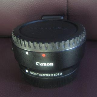 Canon M Adapter鏡頭轉接器 有腳座 $600