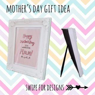 🚚 Mothers day message frame