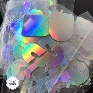FREE HOLOGRAPHIC CARPAINTER DECAL