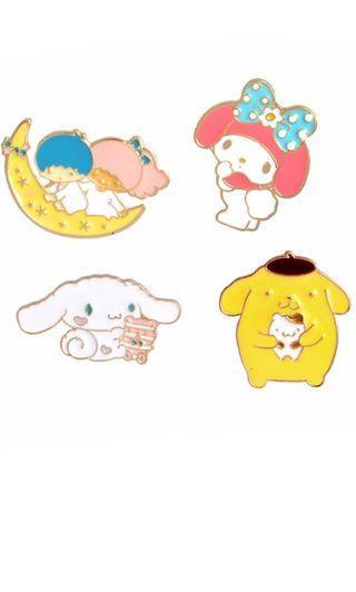 🚚 sanrio pins
