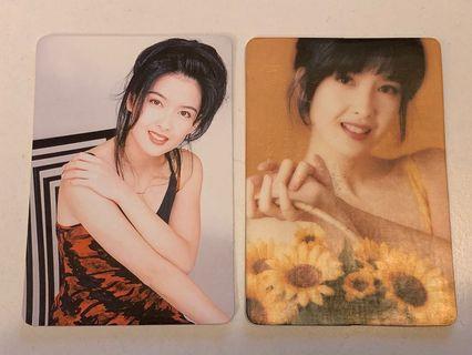Yes card - 靚女周慧敏