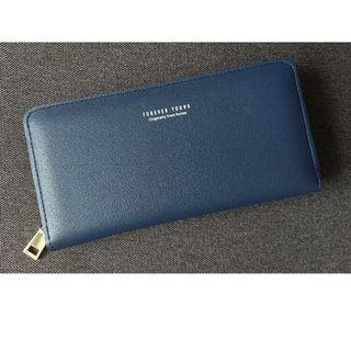 Forever Young long leather wallet