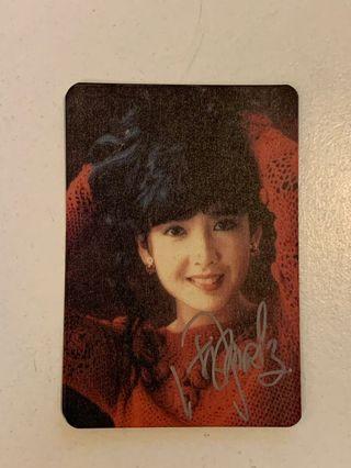 Yes card - 周慧敏簽名卡