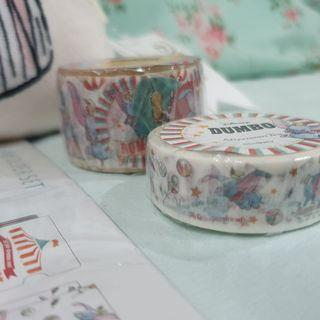 🚚 Disney Dumbo Limited Edition Afternoontea Series Washi tape and sticker roll