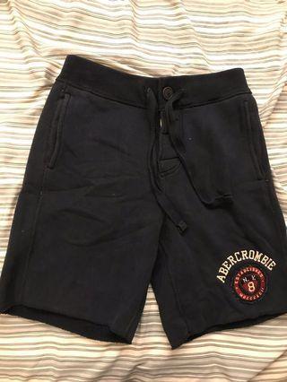 🚚 A&F 綁帶式短棉褲 XS