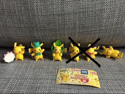 Pokemon Figure 比卡超公仔