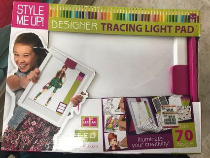 Designer tracing light pad
