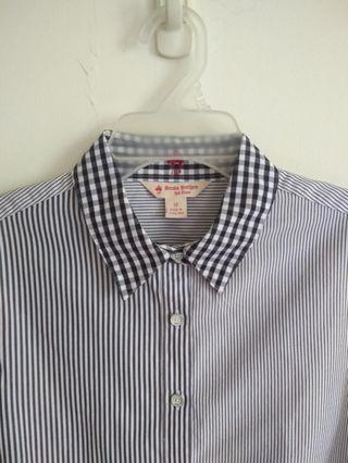 Brooks Brothers Ladies Fitted Shirt Size 12