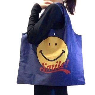 Smiley 大碼環保購物袋 Tote Bag