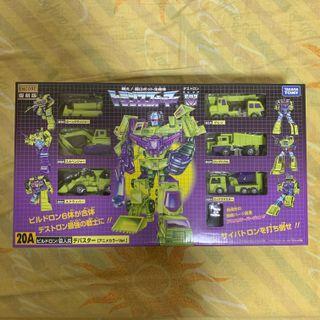 🚚 MISB Transformers Generations Encore Takara Devastator Constructicons 20A