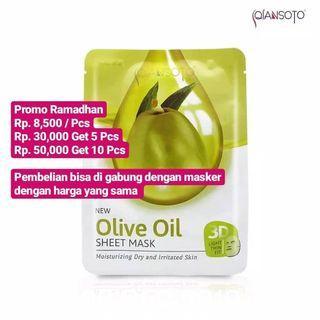 Qiansoto Olive Oil Sheet Mask