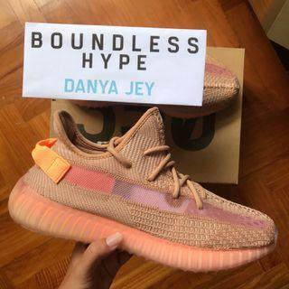 "UK 6/US 6.5 Adidas Yeezy Boost 350 V2 ""Clay"" Exclusive"