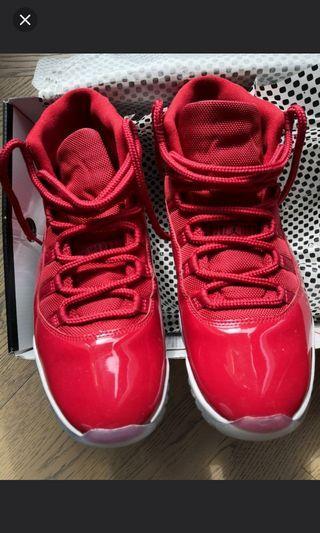 Nike air jordan 11 us12 6 8 4 yeezy foamposite