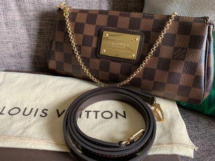 🚚 Louis Vuitton Eva Damier