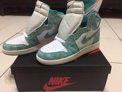 【商品名稱】:Air Jordan 1 turbo green Tiffany GS