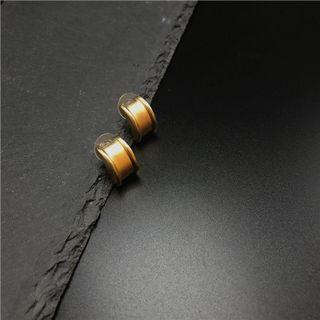 Caura by England , earring 復古董海外 鍍金 90年代古董首飾(全新)