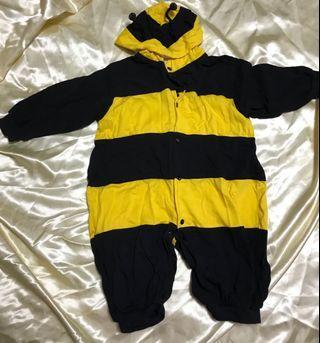 Bumble bee romper